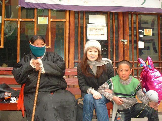 自己開示ストーリー、修行のチベット