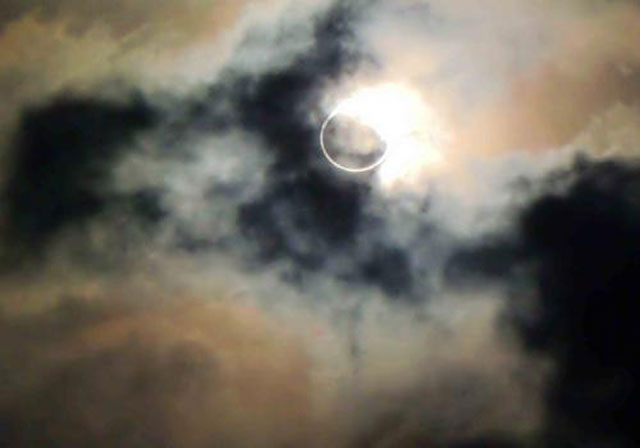 2008年上海での皆既日食