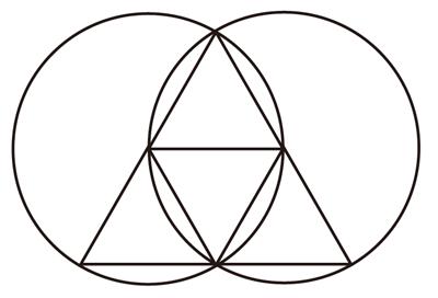 ヴァシカパイシスの三角形黄金比