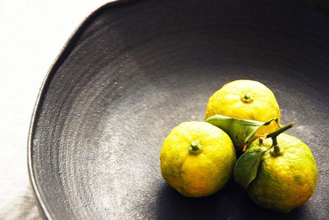 冬至のハーブは柚子