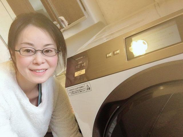 パナソニックドラム式洗濯機VX9900L