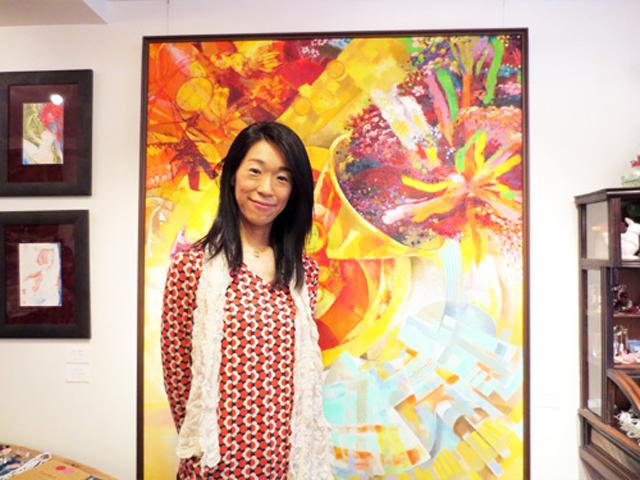 魂のストリッパー画家 森田 涼子さんのthe One鑑賞会@勝どき
