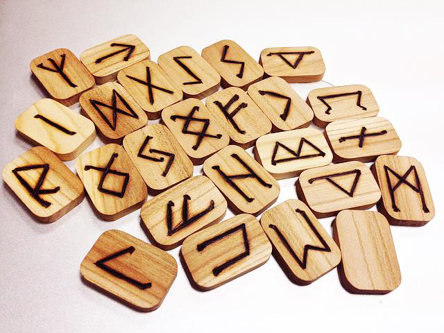 ルーン文字とドラゴンズブラッド