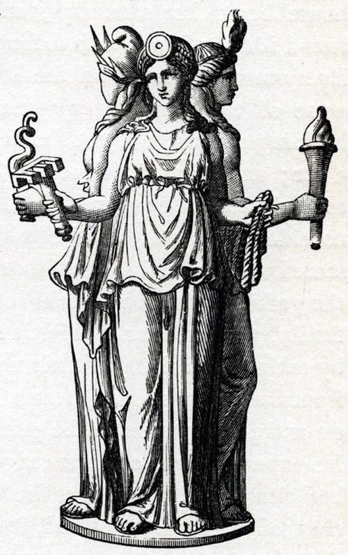 """宗像三女神と魔女ヘカテー。同神のキーワードはやはり""""3"""""""