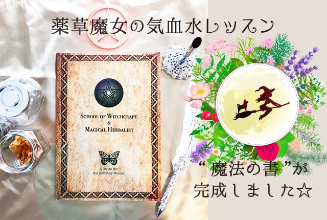 薬草魔女の気血水レッスン☆12月第1期生 募集開始です☆