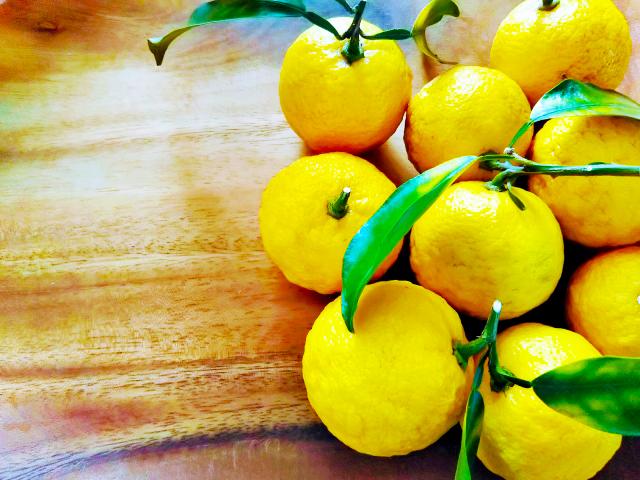 冬至の魔法ハーブ、柚子