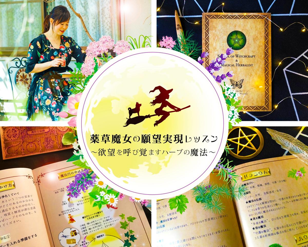 今回がラスト★薬草魔女の願望実現レッスン🌿限定7