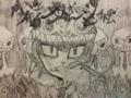 少年少女カメレオンシンプトム模写