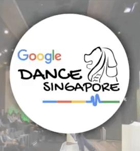 Google Dance Singapoleのロゴ