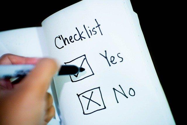 安全に資産運用をするためのチェックリスト