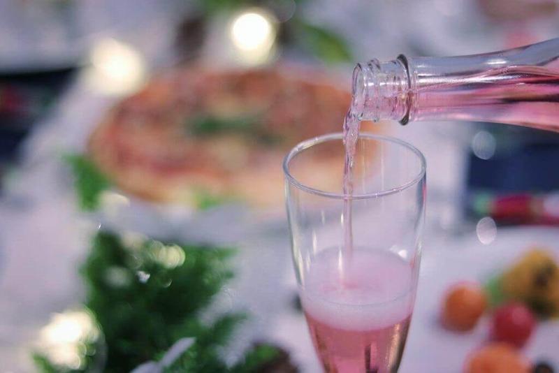 シャンパン(ロゼ)