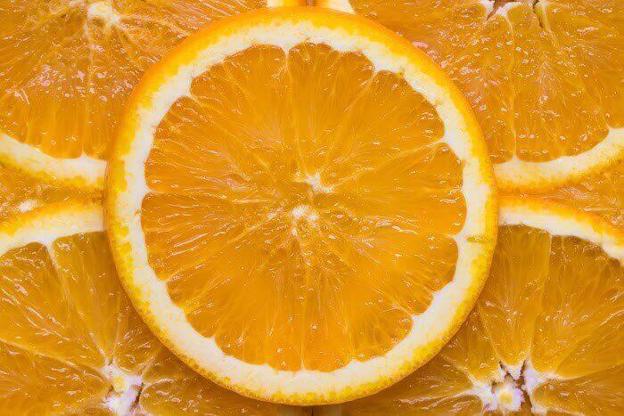 オレンジ(輪切り)
