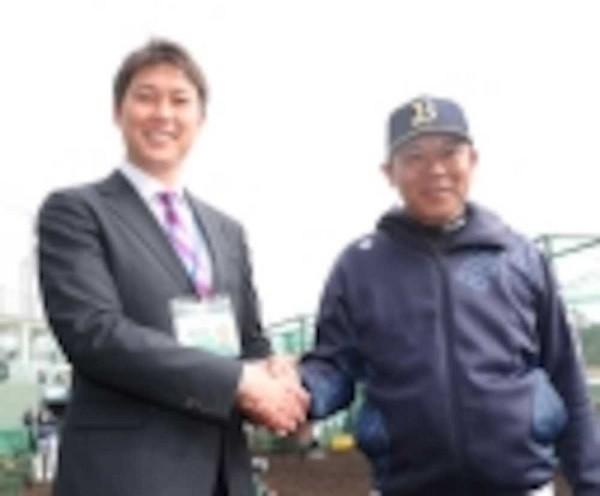 新井さんとオリックス西村監督