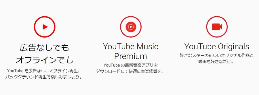 YouTube Premiumの解説