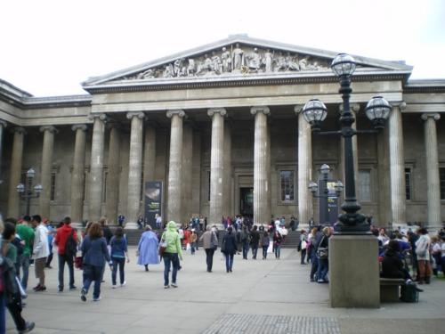 sadler's wellsの公演前に大英博物館!