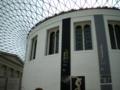 [旅行][ロンドン2012.0707-0712]グレートコートは長く開いてる