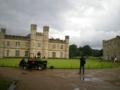 [旅行][ロンドン2012.0707-0712]リーズ城。シンボルは黒鳥でちらほらいます