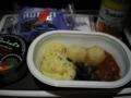 [旅行][ロンドン2012.0707-0712]ベジタブルブレックファーストをチョイス。ヴァージンのごはんすき!