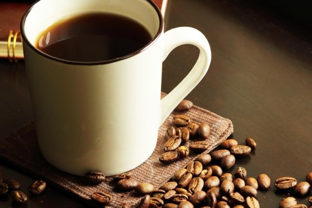 空腹にコーヒー