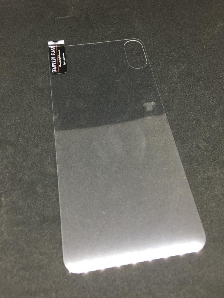 iPhoneX 背面用ガラスフィルム