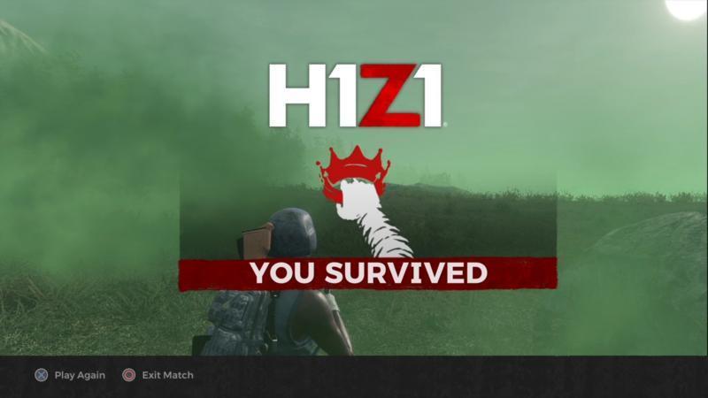 H1Z1  優勝