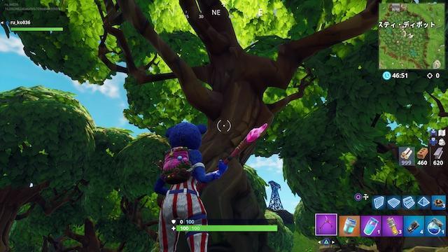 フォートナイト 木
