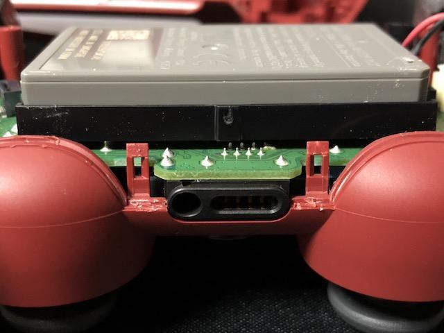 PS4 コントローラー 分解