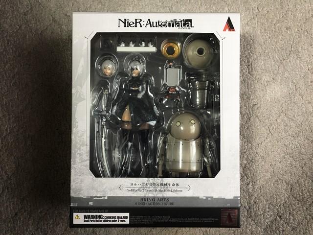 NieR:Automata BRING ARTS <2B&機械生命体>