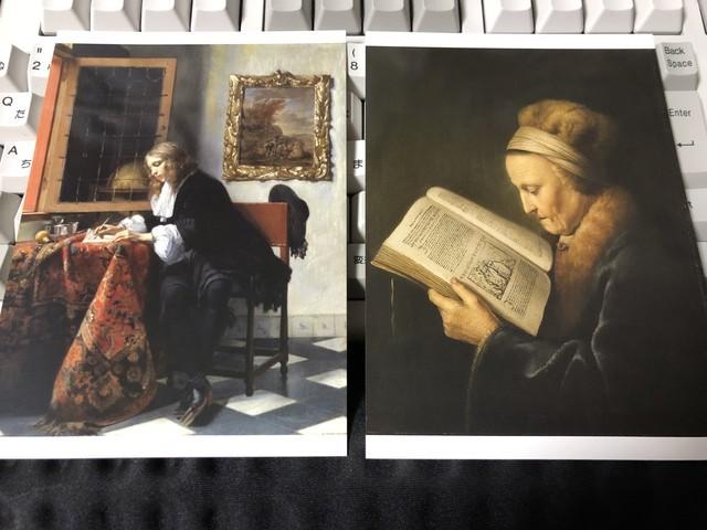 フェルメール展 ポストカード