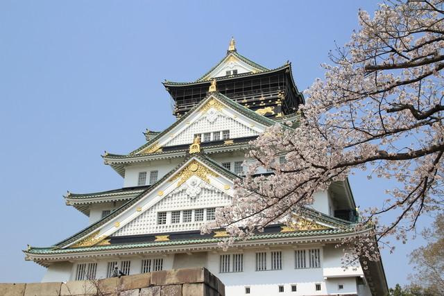 EOS Kiss X5 大阪城公園 桜