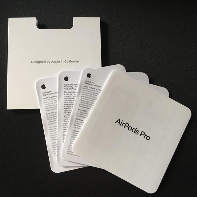 AirPods Pro 付属品