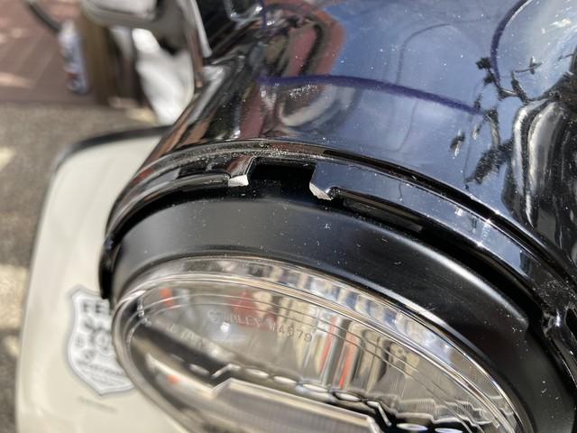 スーパーカブC125 ヘッドライトリム ツメ折れ