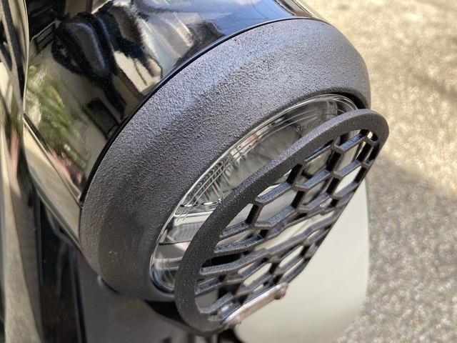 スーパーカブC125 ヘッドライトリム 塗装