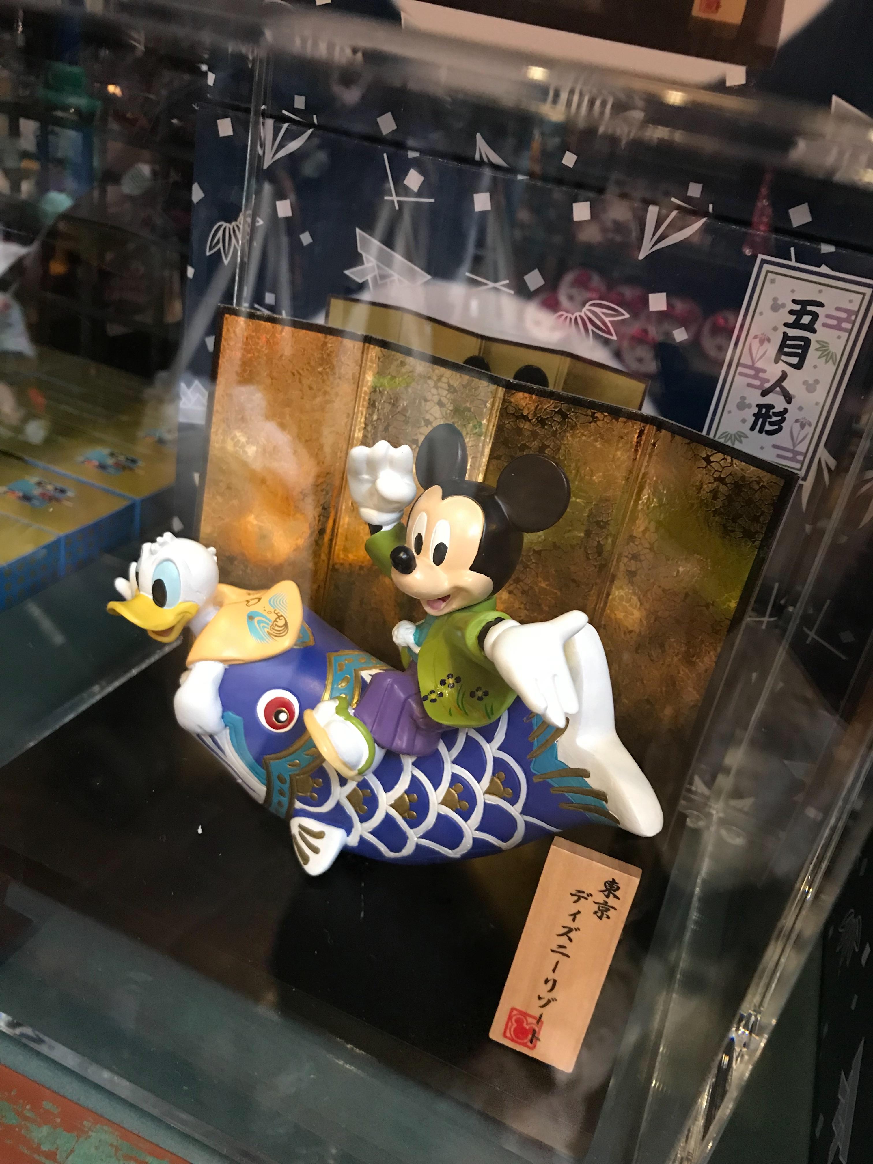 ディズニーの5月人形が可愛すぎた!ミッキー好きには必見ー