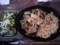 炒飯、海鮮やきそば、オクラと山芋のサラダ