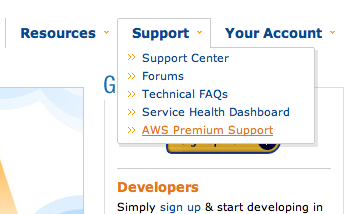 AWS Premium Support 01