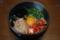 キムチ卵かけ納豆丼