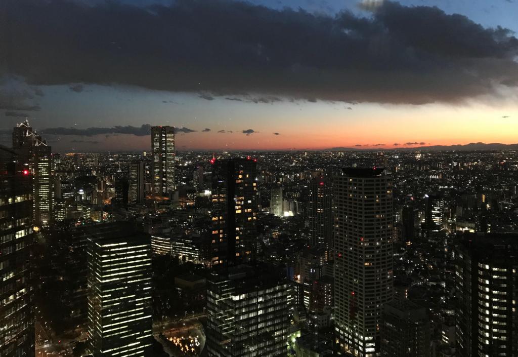 落ち込んだら東京の夜景