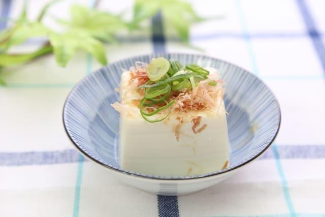 お豆腐でタンパク質