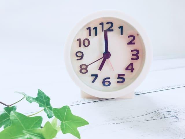 1時就寝 7時起床