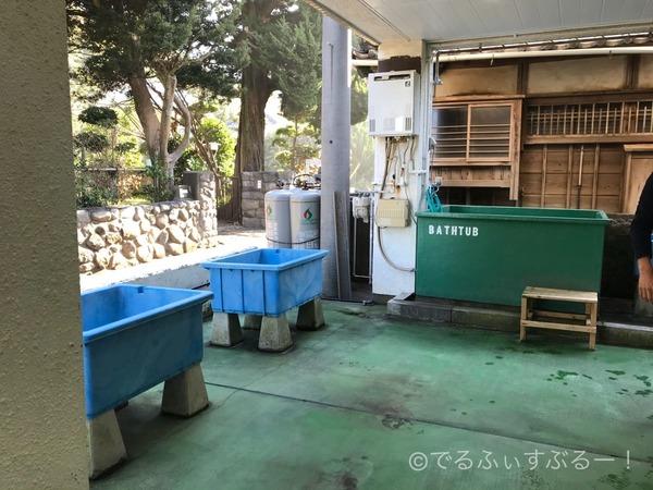 器材洗い場