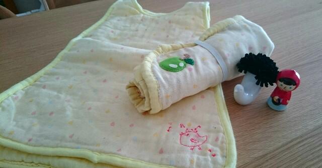 手作りオムツ替え用マット(手縫い)