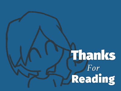 読んでくれてありがとう