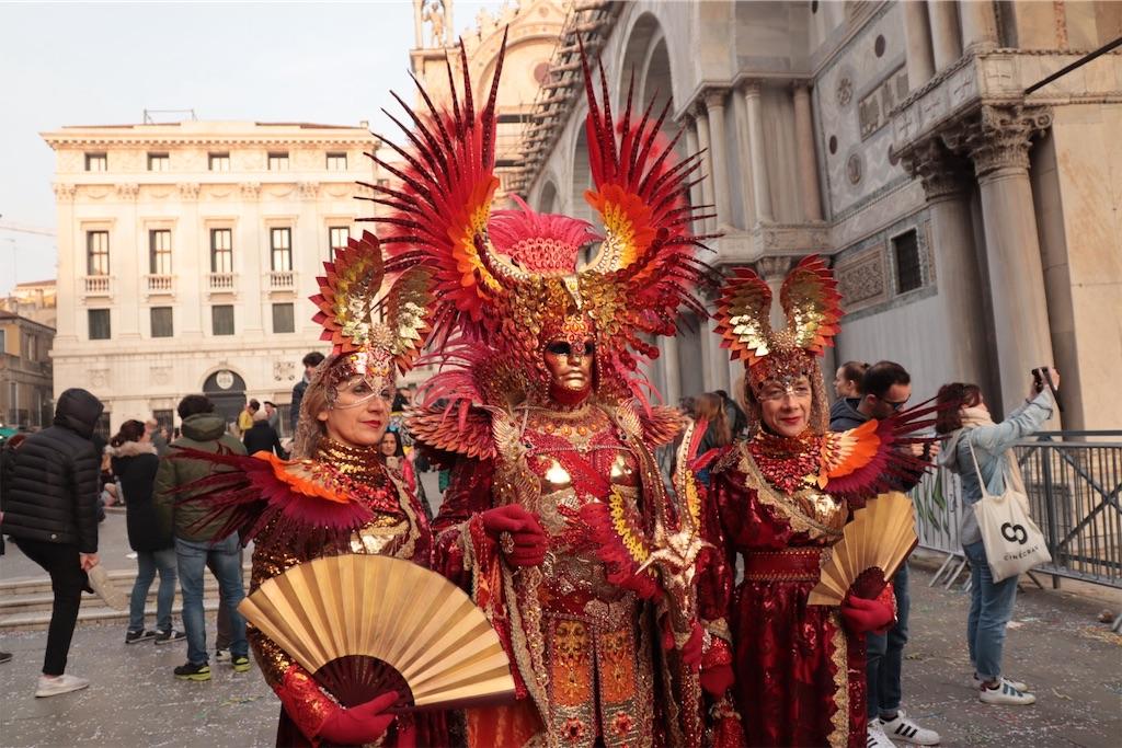 ベネチアカーニバルのコスプレ2