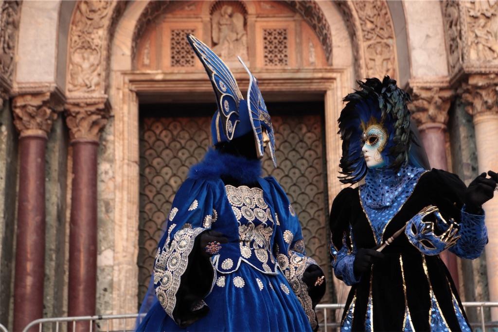 ベネチアカーニバルのコスプレ3