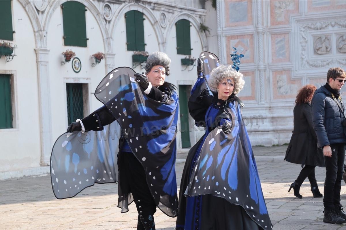 ベネチアカーニバルのコスプレ