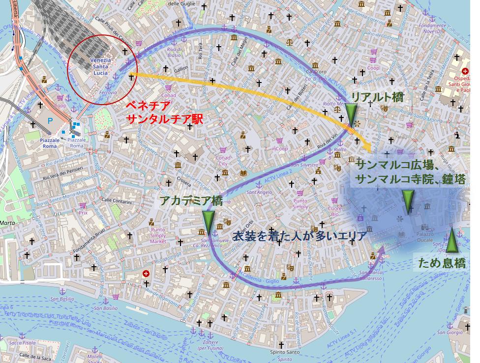 ベネチアの地図2