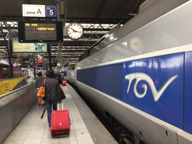 TGVの駅