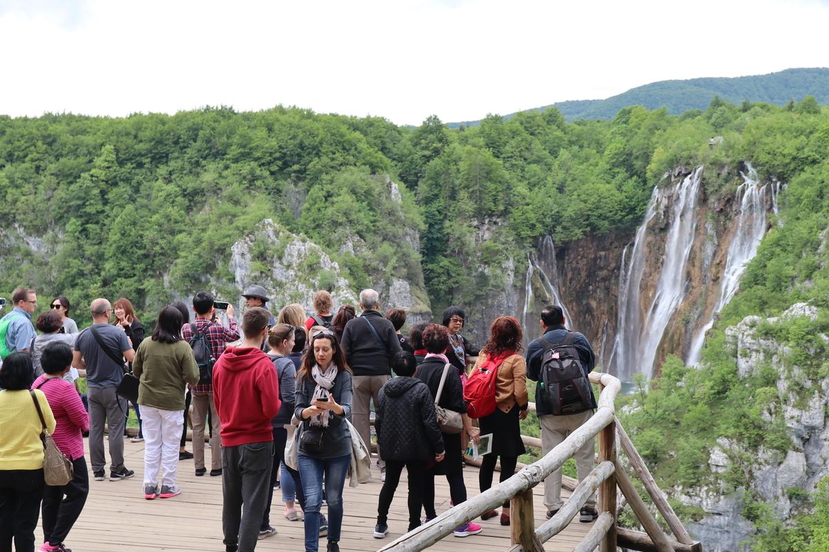 プリトヴィツェ国立公園の景色1