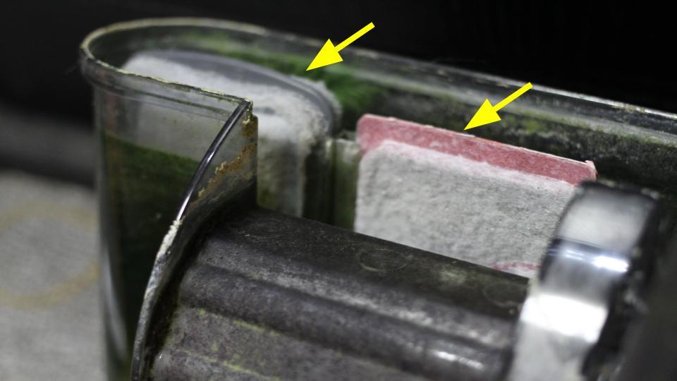 ろ過装置のフィルター